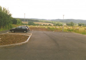 Beauly station car park